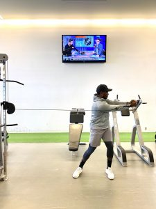 Cable Rotation (Shoulder Level)